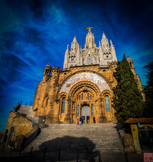 Temple of the Sacred Heart of Jesus, Barcelona (1 of 1)