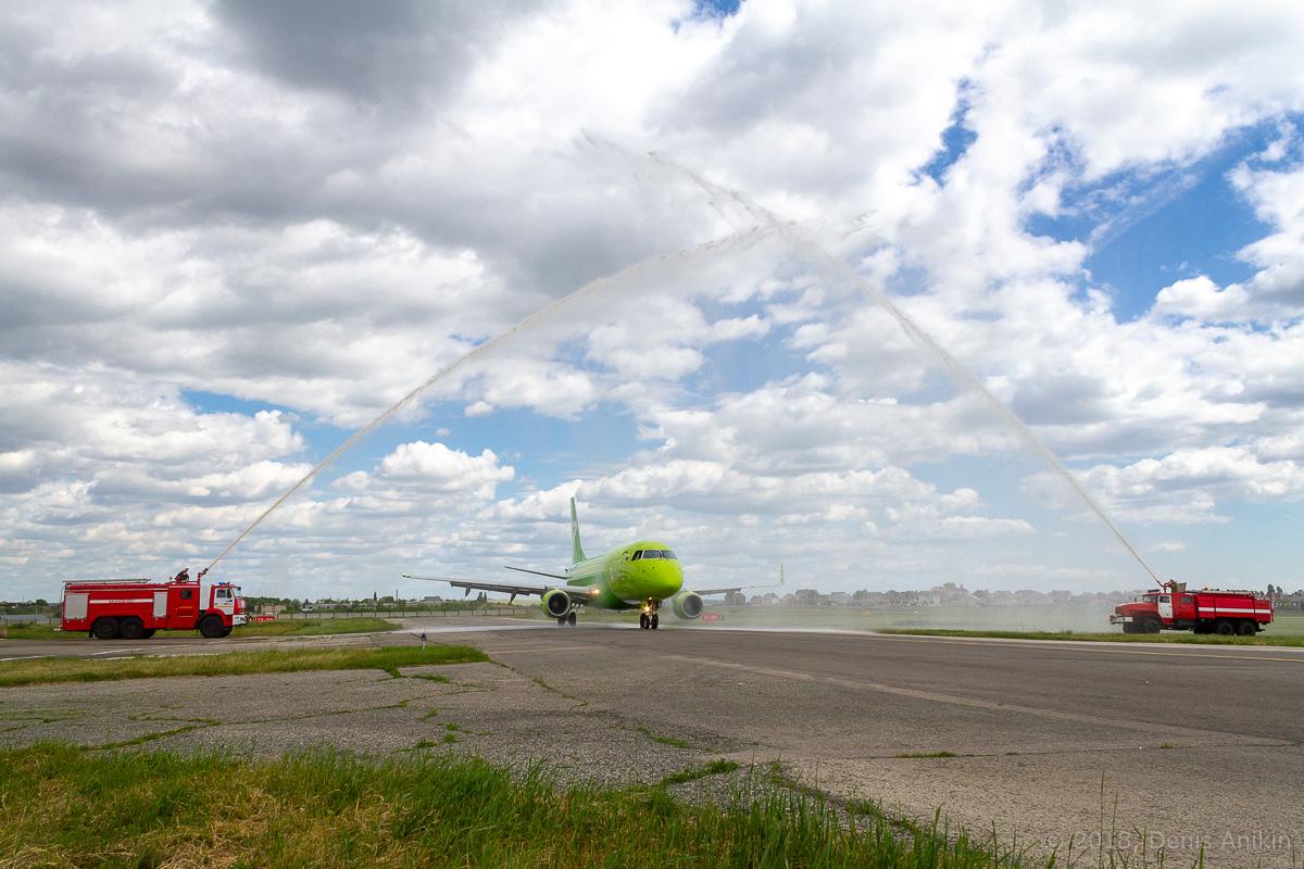 S7 Airlines первый рейс в Саратов фото 2