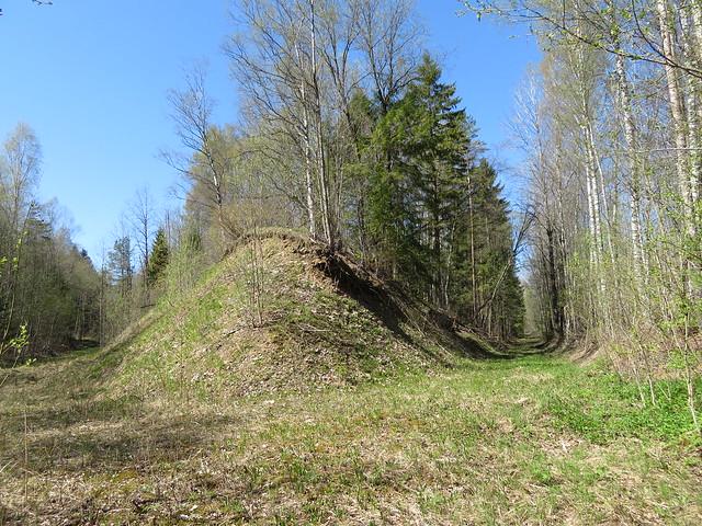 Küttejõu põlevkivikarjäär / Küttejõu oil shale surface mine, Estonia