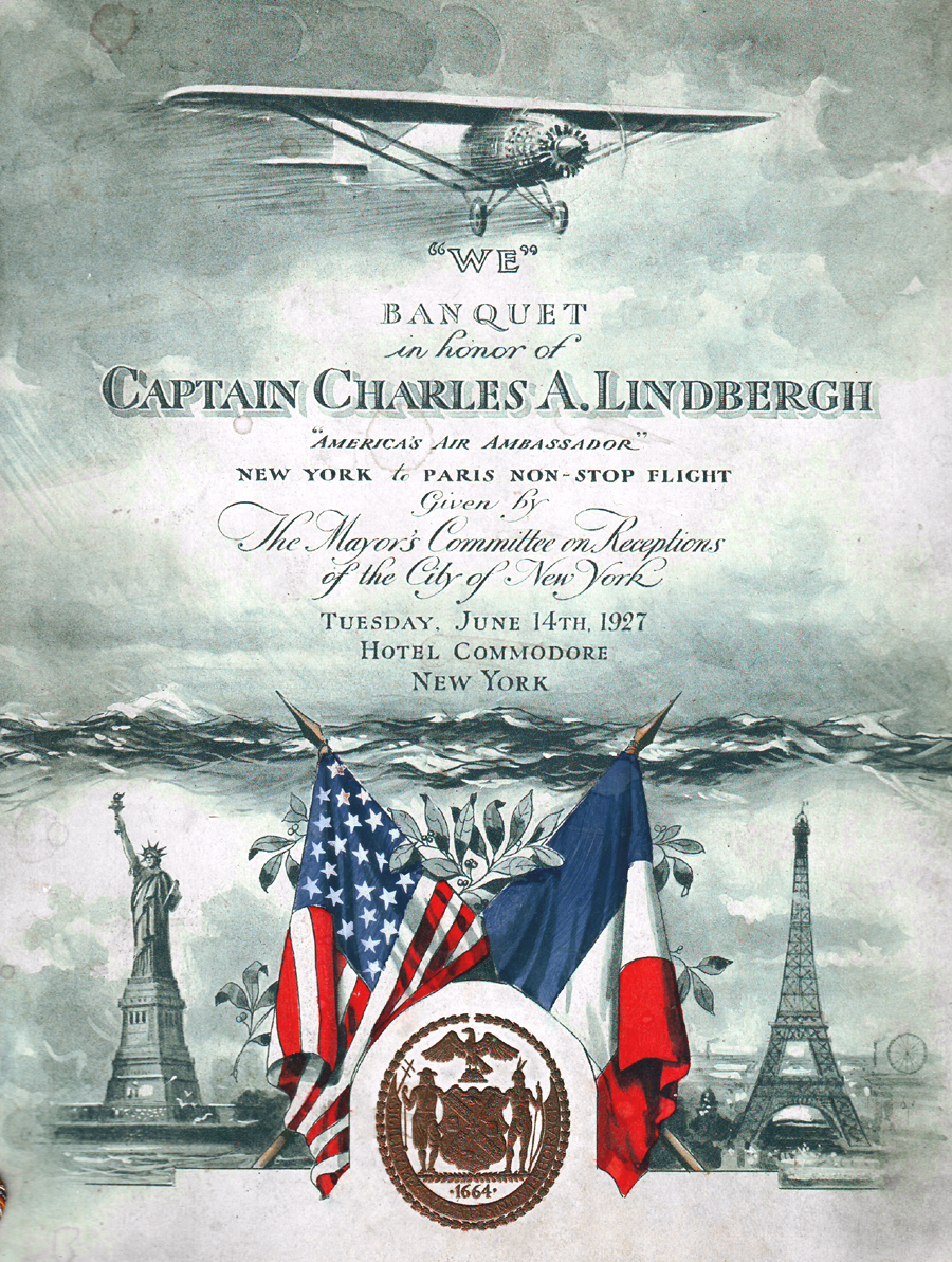 Cover of the program for the