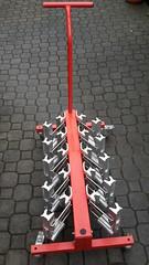 stojan na lyže - titulní fotka