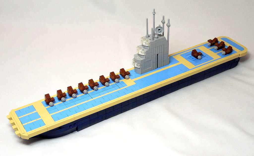 LEGO® MOC by Vitreolum: Aircraft Carrier