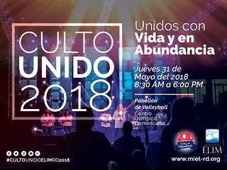 Culto Unido 2018