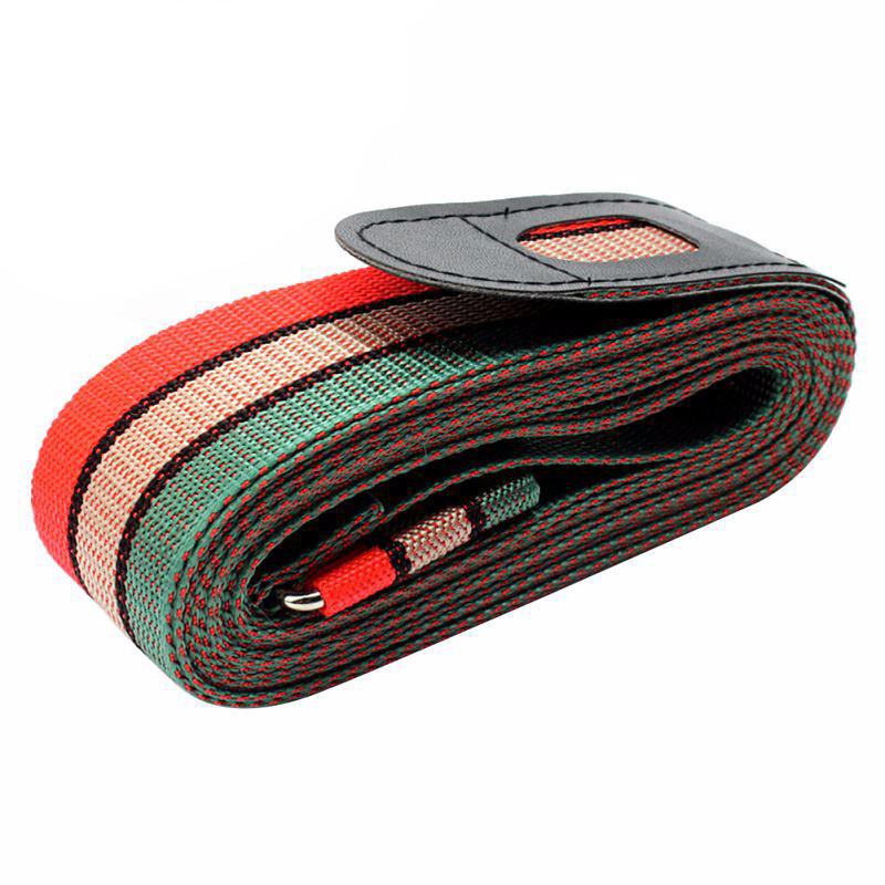01 Dây đai bảo vệ khóa vali đôi chữ thập 3 sọc ReMonStore color GPR