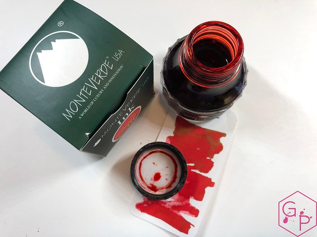 Monteverde Valentine's Red Ink Review @MonteverdePens 16