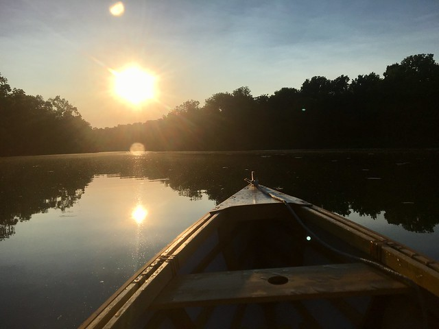 Springfield Lake Canoe Evening