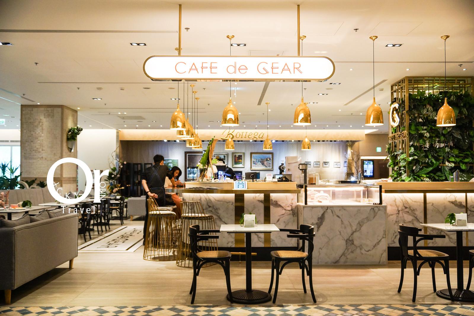 內湖美麗華美食|大直最美室內咖啡店、藏在萬豪酒店內的秘密基地,知名老洋房咖啡廳新分店-Cafe de Gear Marriott