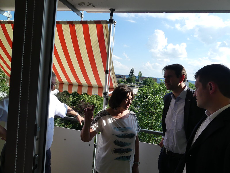 2018: MdB Jung in der Schwaketenstraße (Vonovia)