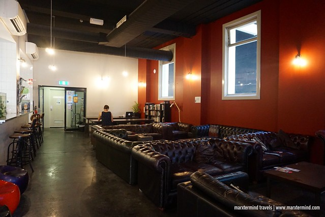 Big Hostel Sydney Common Lounge