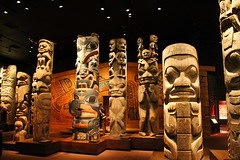 Totem Poles @ Royal British Columbia Museum