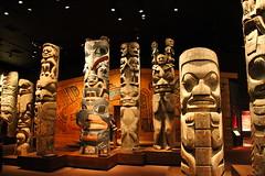 Totem Poles @ Royal British Columbia Museum