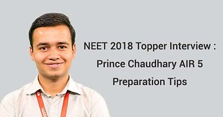 neet 2018 topper interview of prince chaudhary