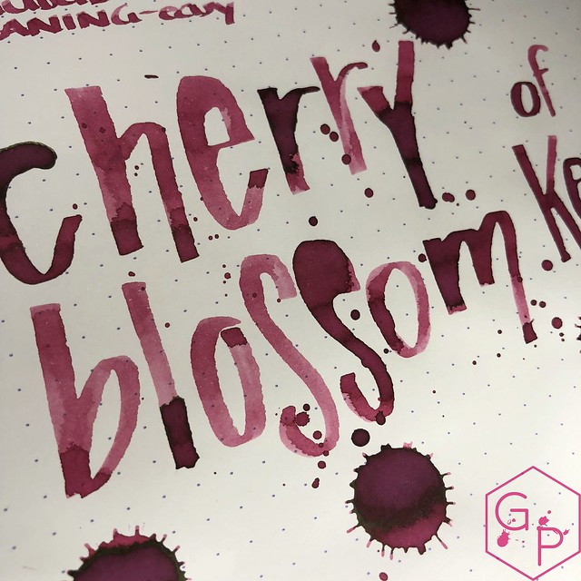 Kyo-Iro Cherry Blossoms of Keage Ink Review @PhidonPens 18