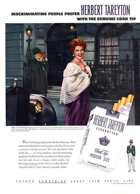 Herbert Tareyton Cigarettes