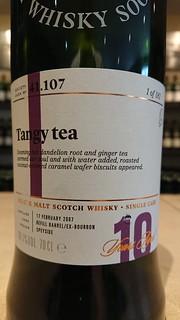SMWS 41.107 - Tangy tea