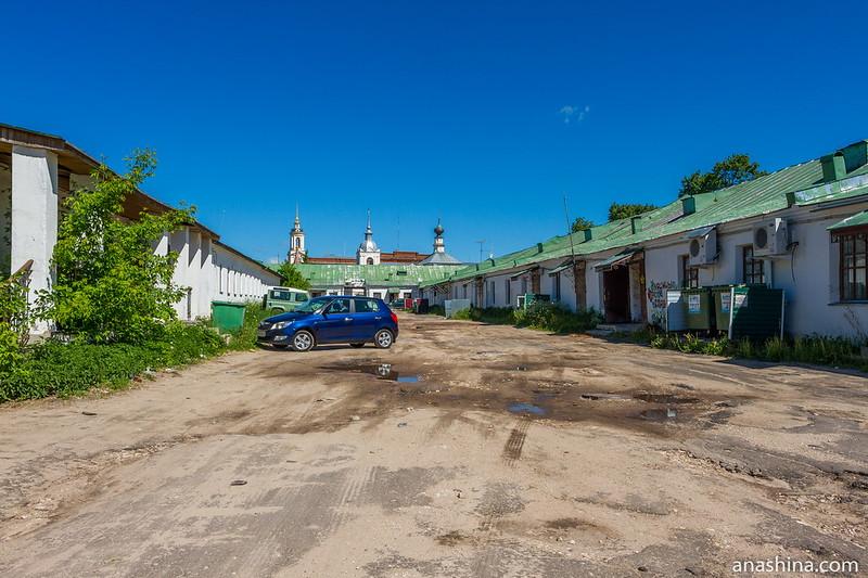 Внутренний двор Торговых рядов, Суздаль