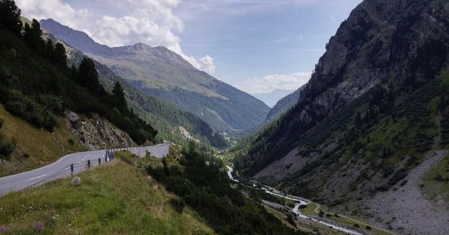 Na kole z Livigna do Davosu přes Flüela Pass