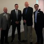Northwest Arkansas Chamber Executives and Paul - Bentonville, Arkansas