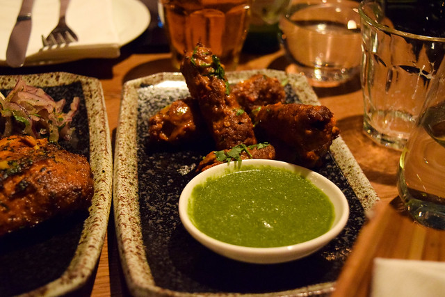 Tandoor Lamb Kebabs at Roti Chai, Marylebone #indian #smallplates #marylebone #london