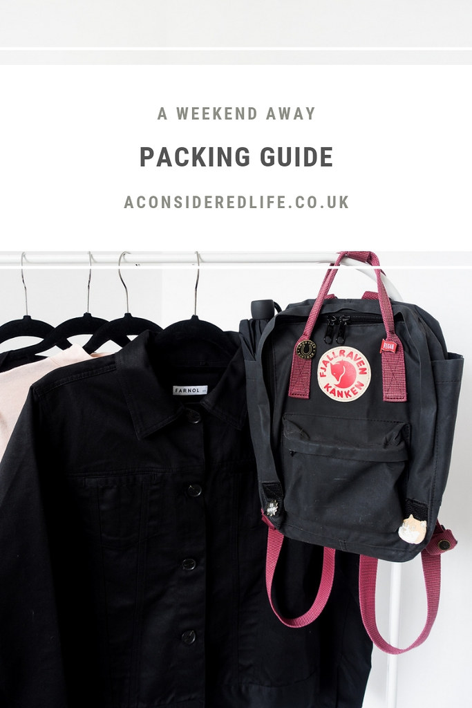 A Weekend Packing List For Kent