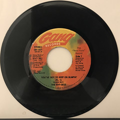 THE KAY-GEES:YOU'VE GOT TO KEEP ON BUMPIN'(RECORD SIDE-A)