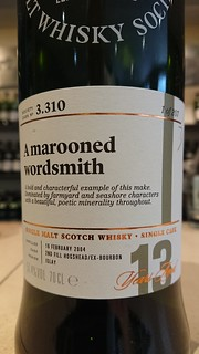 SMWS 3.310 - A marooned wordsmith