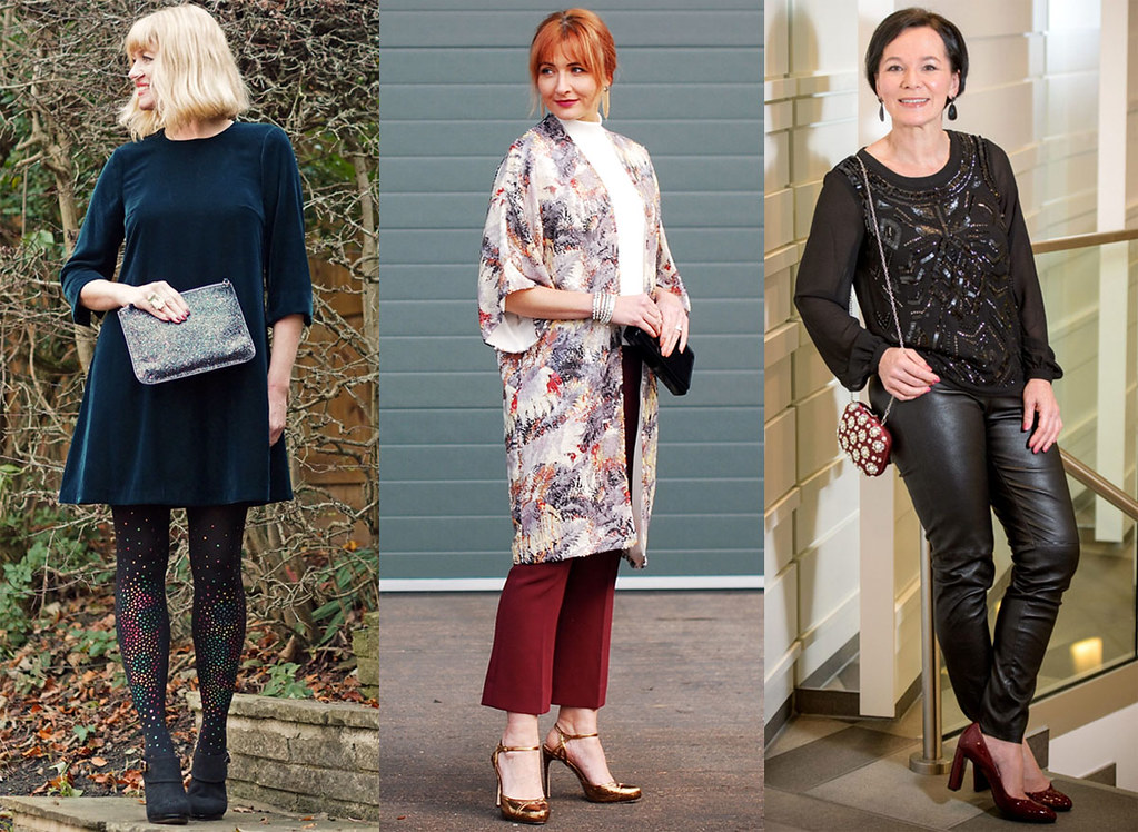 21 christmas party outfit ideas worn by regular over 40 women