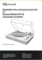 Garrard TechEng Service Manual GT-25