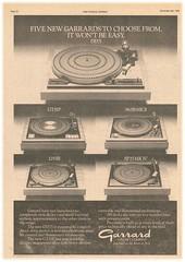 Garrard Adv NME 061176