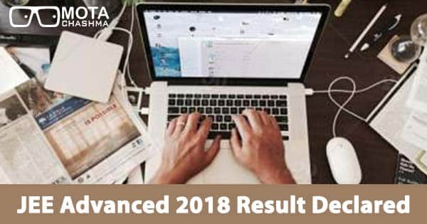 jee advanced 2018 result declared pranav goyal secures air 1