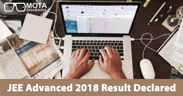 jee advanced 2018 result declared pranav goyal secures air 1