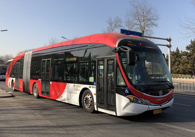 Granton / Electric Vehicle / GTQ6186BEVBT3 18m / 4728794 京A_AS306