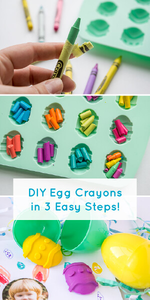 DIY Easter Crayons in 3 Easy Steps