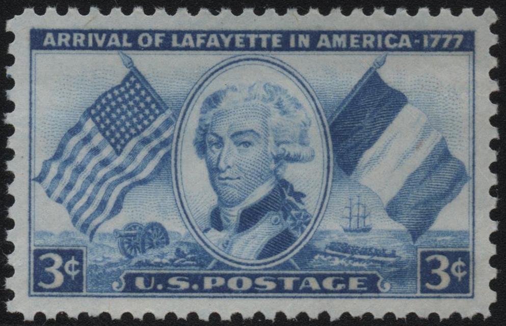 United States - Scott #1010 (1952)