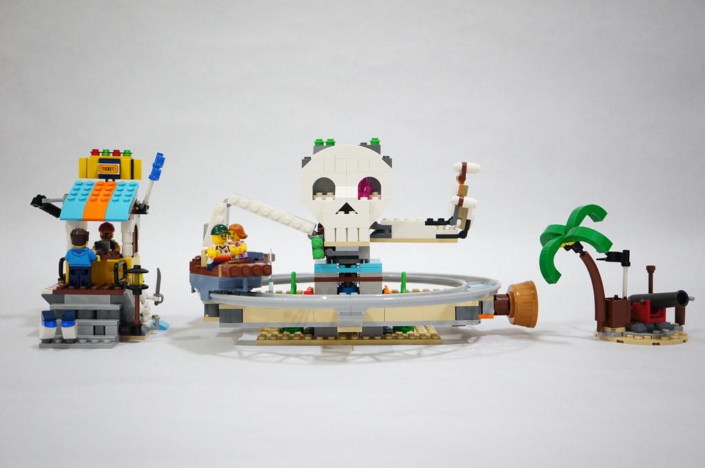 31084 LEGO Pirates Roller Coaster Alternate Builds Review > Candidbricks