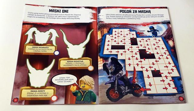 LEGO® NINJAGO®. Wyzwania z naklejkami. Uliczne pojedynki (2)