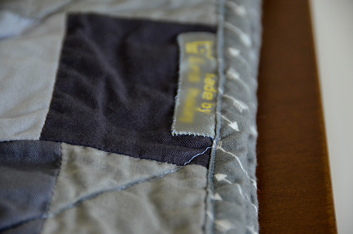 Don't forget to include wash/care labels during the binding phase!