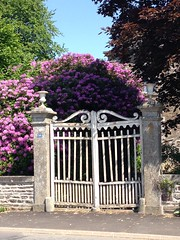 gates: Fougerolles-du-Plessis, France
