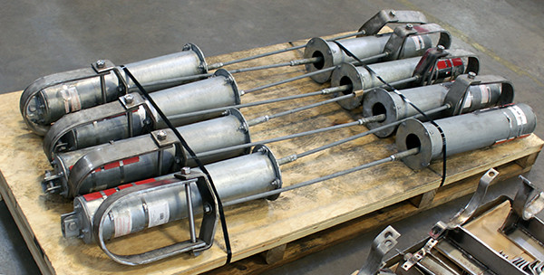 B-Type Variable Spring Supports with Clevis Hangers for an Ethylene Cracker Plant in Texas
