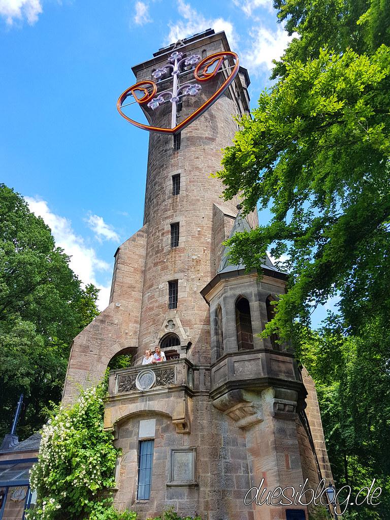 Marburg Kaiser-Wilhelm-Turm Spiegelslustturm Travelblog Düsiblog 09