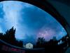 Gewitter durch die Augen eines Fisches by Biker_Marius