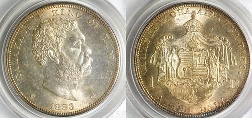 1883 Hawaii Dollar