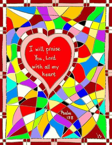 Psalm 138 bulletin