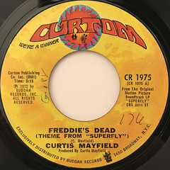 CURTIS MAYFIELD:FREDDIE'S DEAD(LABEL SIDE-A)