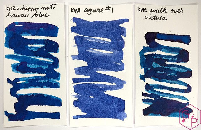 KWZ Ink Hawaii Blue Ink Review 6