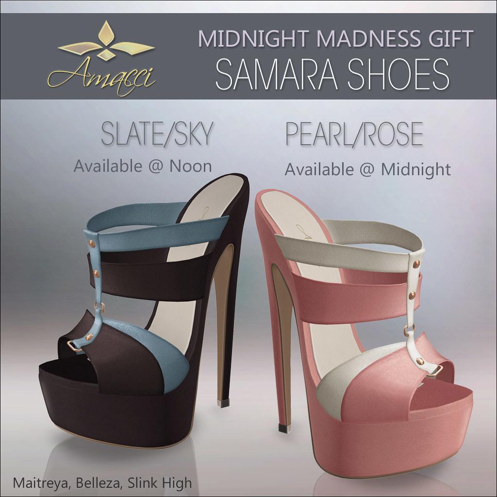 Free Gifts MMM – Amacci Shoes Samara