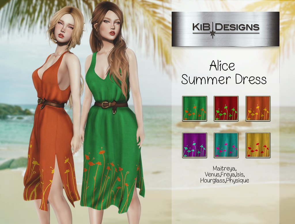 KiB Designs – Alice Summer Dress @Sense Event