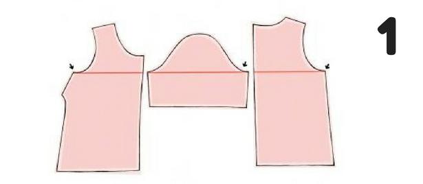 Cutting Stripes Step 1