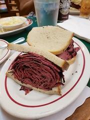 Pastrami Sandwich At Ben's Best