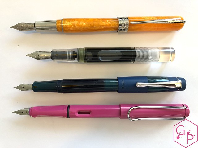 @Pineider Avatar Saffron Fountain Pen Review @GoldspotPens 28